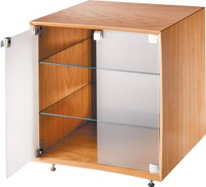 HIFI_Qube_Oak_door-open-white-bground