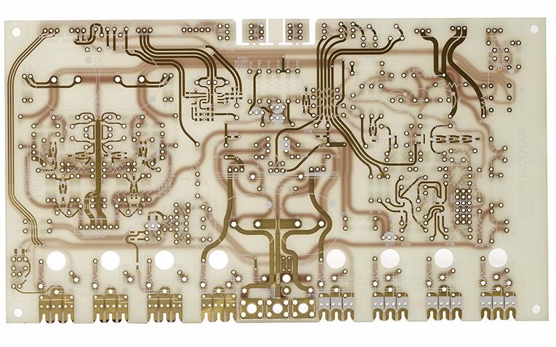 luxman 509x pcb circuit detail